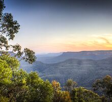 Echo Point, Blue Mountains in HDR by pommieken