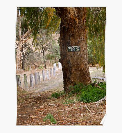 True Aussie Bush Track Poster