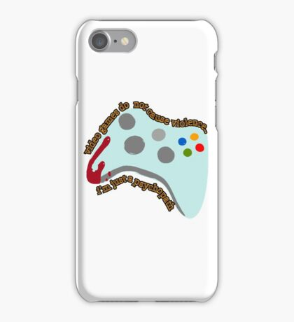 Video Game Violence iPhone Case/Skin