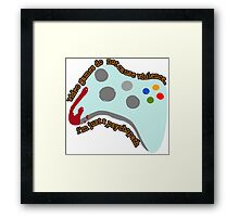 Video Game Violence Framed Print