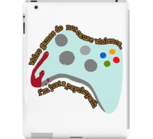 Video Game Violence iPad Case/Skin