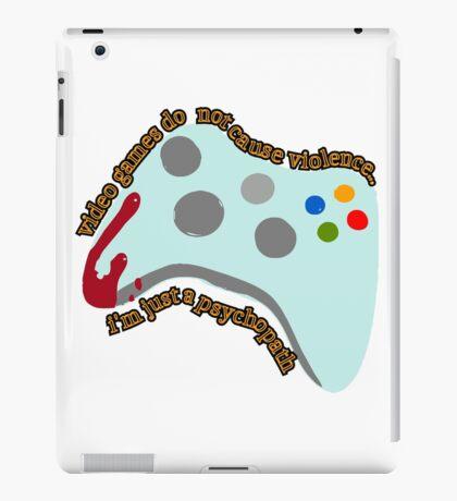 Video Game Violence iPad Case/Skin
