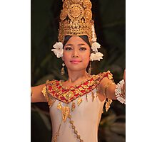 Cambodian Dancer #1 Photographic Print