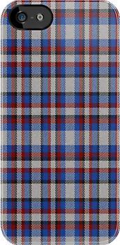 02351 Cuyahoga County, Ohio E-fficial Fashion Tartan Fabric Print Iphone Case by Detnecs2013