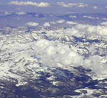 Over the Sierra Nevada Mountain Range by Tori Snow