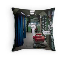 Minuteman Missile Delta 01 Lunch Control Facility Throw Pillow