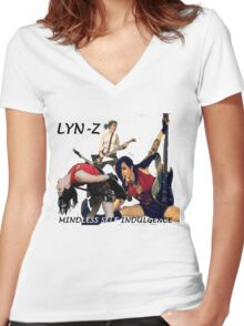 Lyn-Z Way Women's Fitted V-Neck T-Shirt