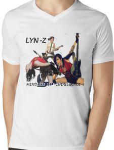 Lyn-Z Way Mens V-Neck T-Shirt