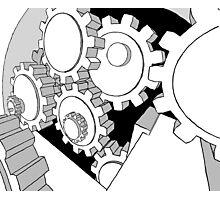 mechanism Photographic Print