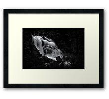 Upper Fallen Leaf Falls Framed Print