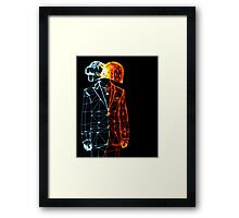 Daft Wire Framed Print