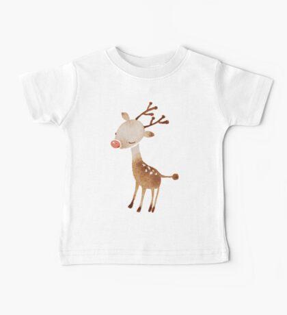 Rudolf the reindeer Baby Tee