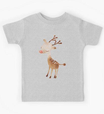 Rudolf the reindeer Kids Tee