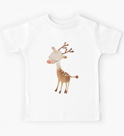 Rudolf the reindeer Kids Tee
