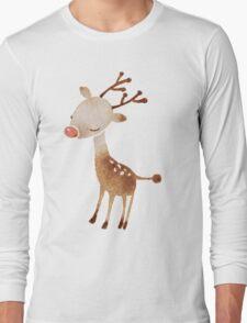Rudolf the reindeer Long Sleeve T-Shirt