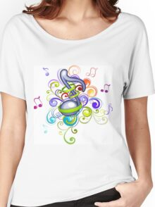 Music in the air Women's Relaxed Fit T-Shirt