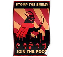The Foot wants you! Poster