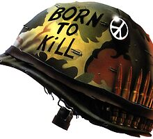 full metal jacket- born to kill,  by DANNYD86