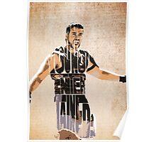 Gladiator Typography Poster