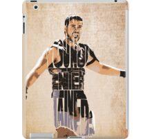 Gladiator Typography iPad Case/Skin