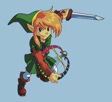 The Legend Of Link Kids Tee