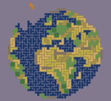tetris earth  by killermiro