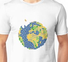 tetris earth  Unisex T-Shirt