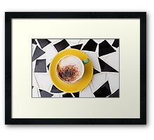 Cafe Coffee Framed Print