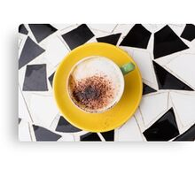 Cafe Coffee Canvas Print