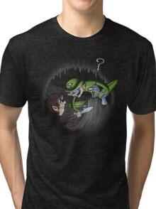 The original Riddler Tri-blend T-Shirt