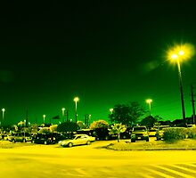 Green night by Louis Delos Angeles