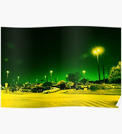 Green night Poster