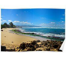 South shore Oahu Hawaii Poster