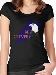 Be Clever Women's Fitted Scoop T-Shirt
