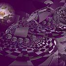 Purple deep dream by innacas