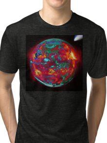 Fire Planet Tri-blend T-Shirt