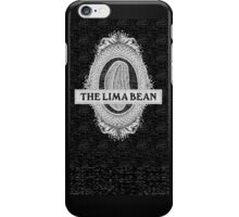 Lima Bean (without text) iPhone Case/Skin
