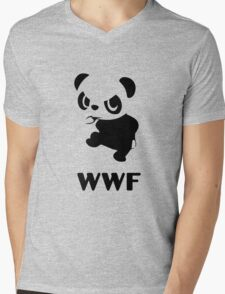 Yancham WWF Tee Mens V-Neck T-Shirt