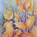 last leaves of Autumn by Gill Bustamante