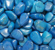 Blue Howlite by Marjuned