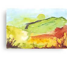 Spring sunrise Canvas Print