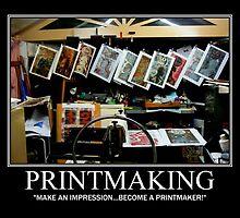 """Printmaking Card 1 by Belinda """"BillyLee"""" NYE (Printmaker)"""