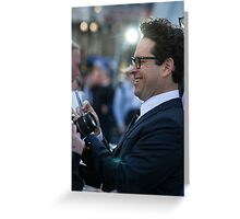 JJ Abrams Greeting Card