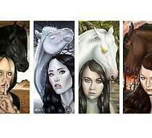 The Four Horsemen  by plantiebee
