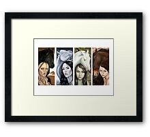The Four Horsemen  Framed Print
