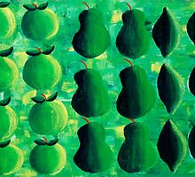 Apples Pears and Limes by Julie Nicholls