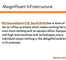 Magnificent office premises for RH International by rhiltd