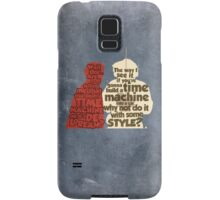 Back to the Future: A Time Machine out of a DeLorean Samsung Galaxy Case/Skin