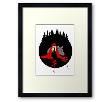 Red Ridding Hood Framed Print