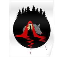 Red Ridding Hood Poster